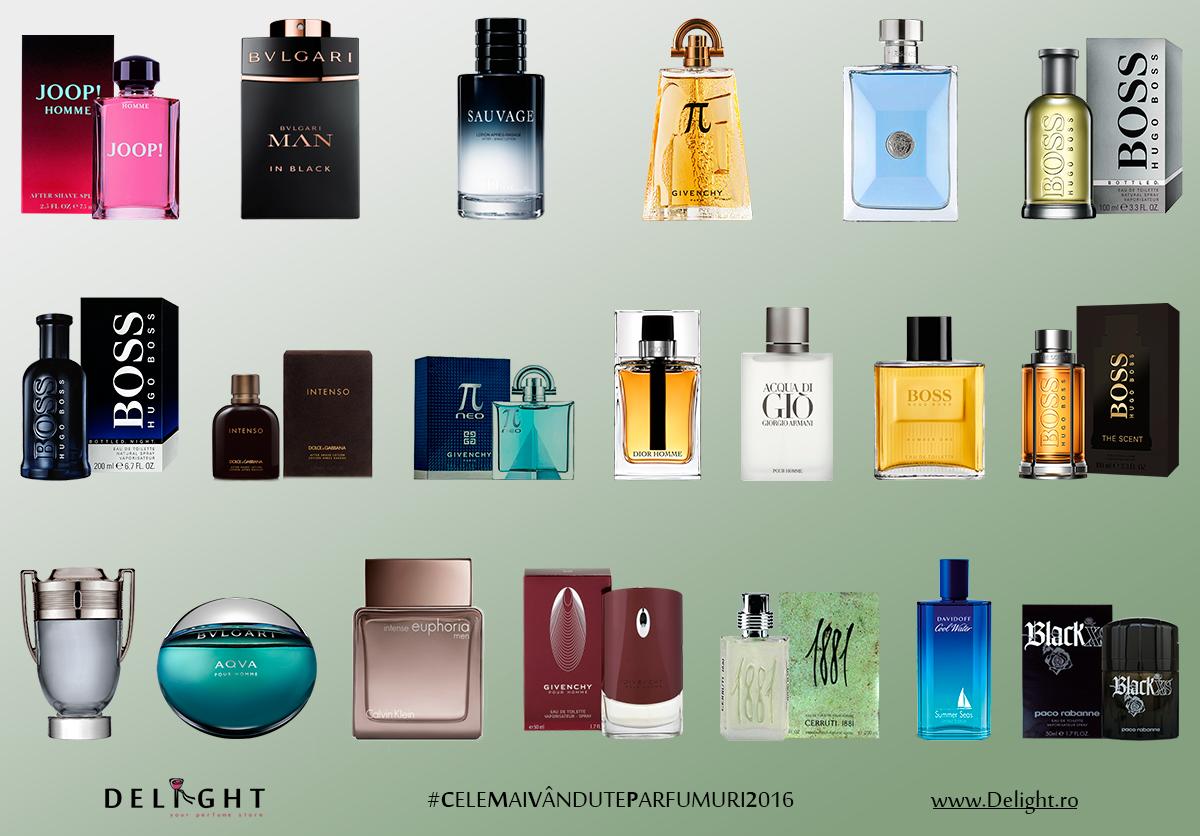 Top 20 Cele Mai Vândute Parfumuri Bărbătești Din 2016