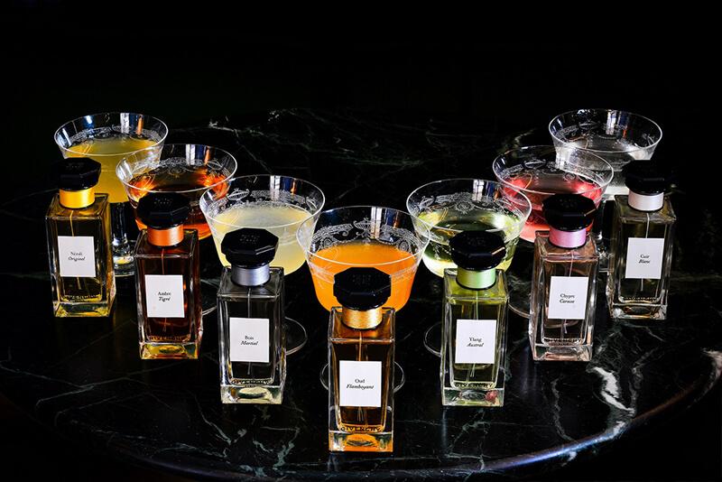depozitarea parfumului